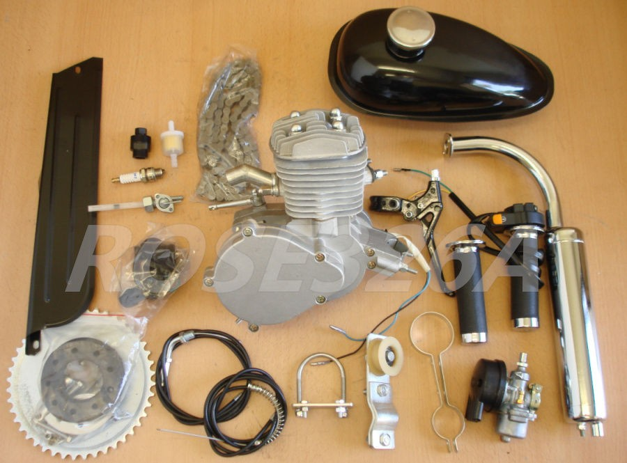 80cc 2 Stroke Engine Motor Kit Motorized Bicycle Bike