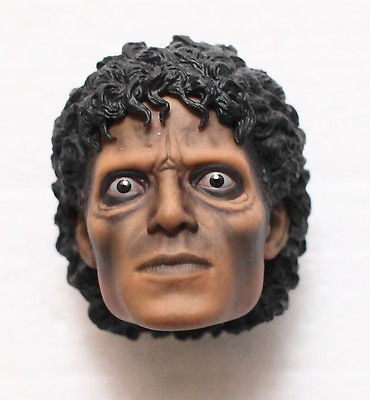 HOT TOYS MICHAEL JACKSON MJ THRILLER 1/6 WERECAT WEREWOLF HEAD