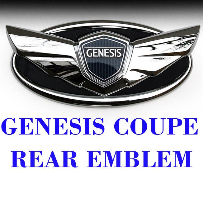 hyundai genesis coupe emblem in Decals, Emblems, & Detailing