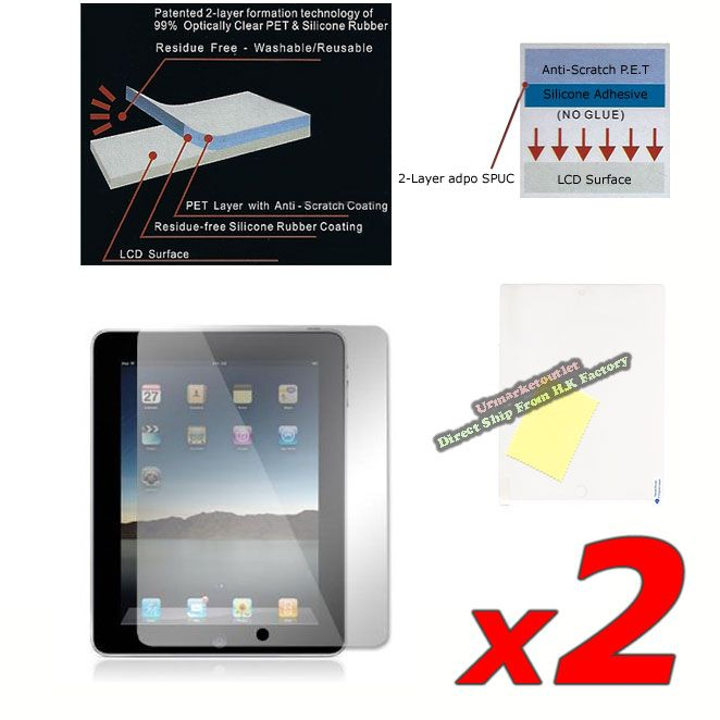 Matte LCD Screen Protector Film Guard for Apple New iPad 2 3