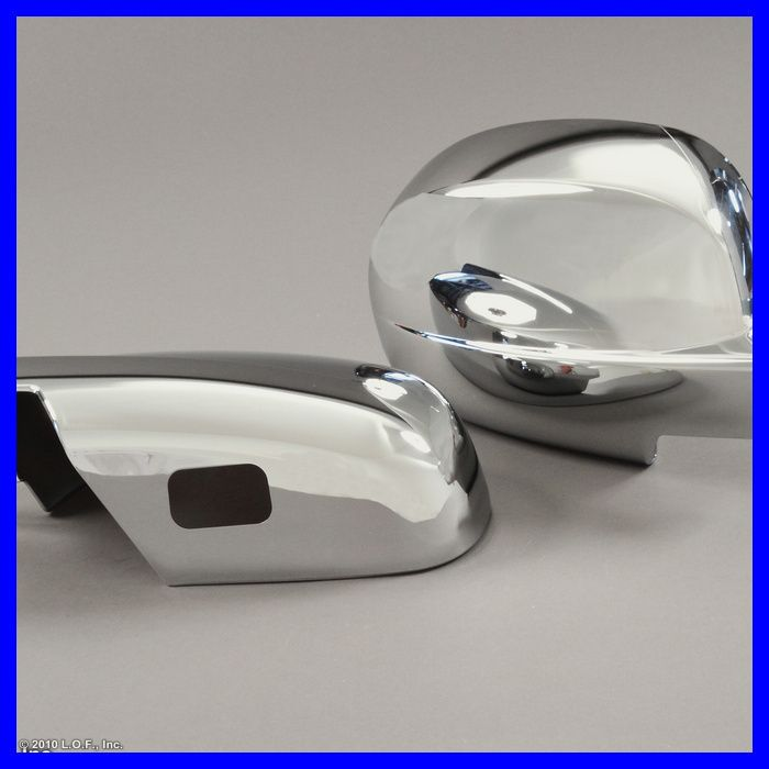 GMC PickUp Truck SUV Chrome Door Mirror Cover Pair Set Full Cover