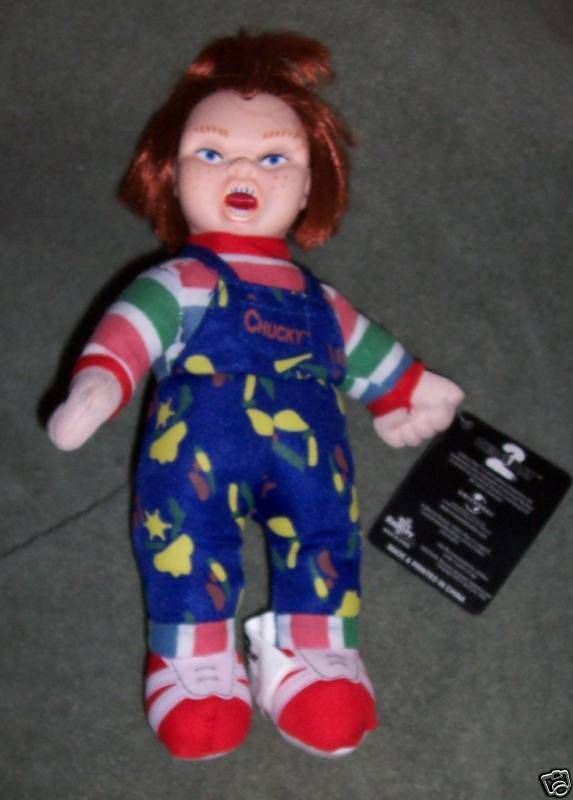 Chuckie Chucky Childs Play Plush Doll NEW Goth Horror Halloween Prop