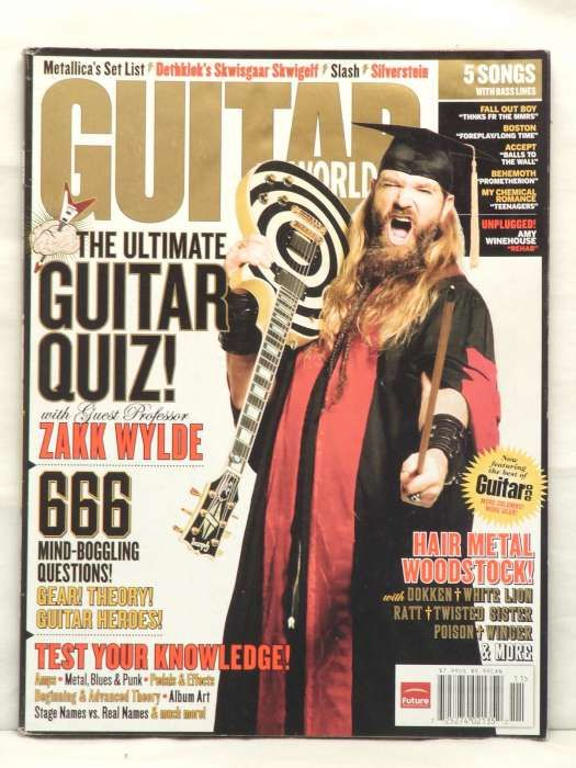 Guitar World Magazine Zakk Wylde Poison Dokken Ratt 07