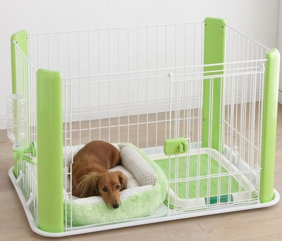 Pet Play Pen Puppy / Dog Playpen w/ pet bed & Water bottle