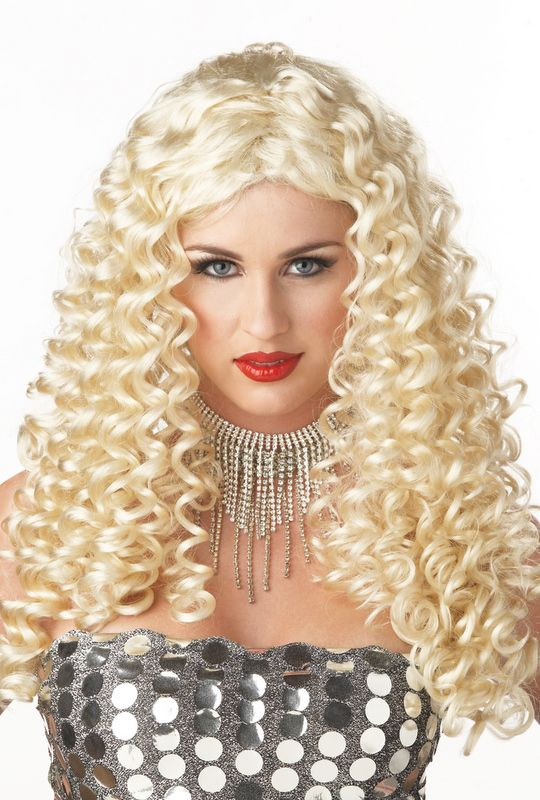 sexy foxy lady halloween costume wig a great disco hair do