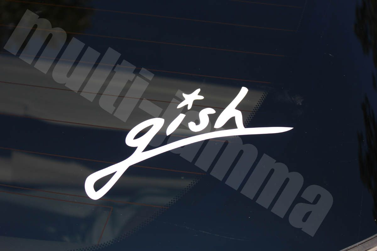 The Smashing Pumpkins Gish Band Vinyl Decal Sticker Car Window High