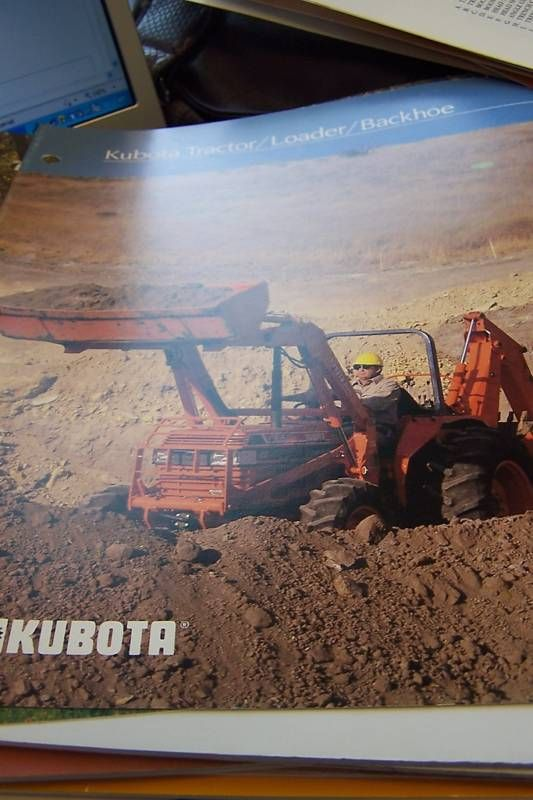 Kubota Tractor Loader Backhoe Brochure