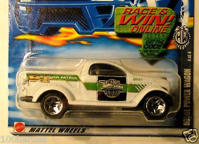 2002 Hot Wheels FED Fleet Series #114 DODGE POWER WAGON